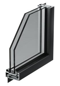 profilo finestra in acciaio
